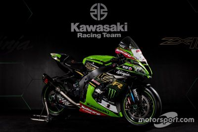 Kawasaki livery unveil