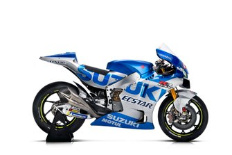 GSX-RR 2020 of Alex Rins, Team Suzuki MotoGP