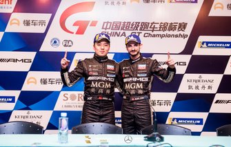 Chris Chia, Alex Fontana, Mercedes-AMG GT4, Phantom Pro Racing
