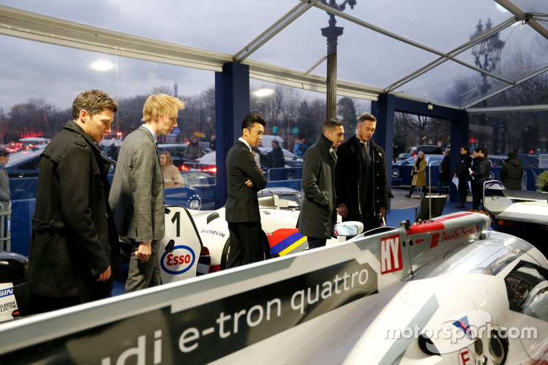 André Lotterer, Kazuki Nakajima, Brendon Hartley, Loïc Duval, Sébastien Buemi
