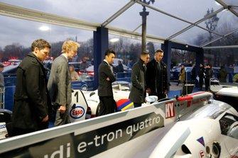 André Lotterer, Kazuki Nakajima, Brendon Hartley, Loic Duval, Sebastien Buemi