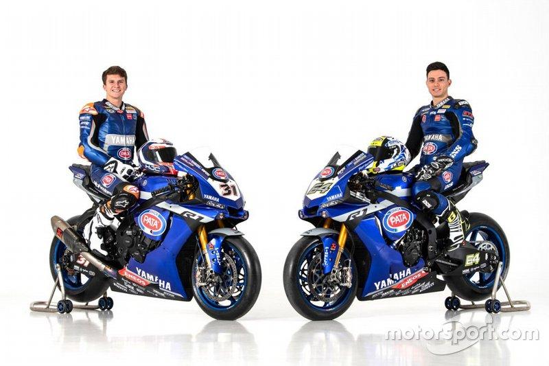 Federico Caricasulo et Garrett Gerloff, GRT Yamaha