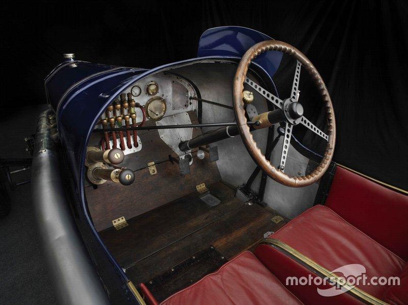 1914 Peugeot L45 Cockpit