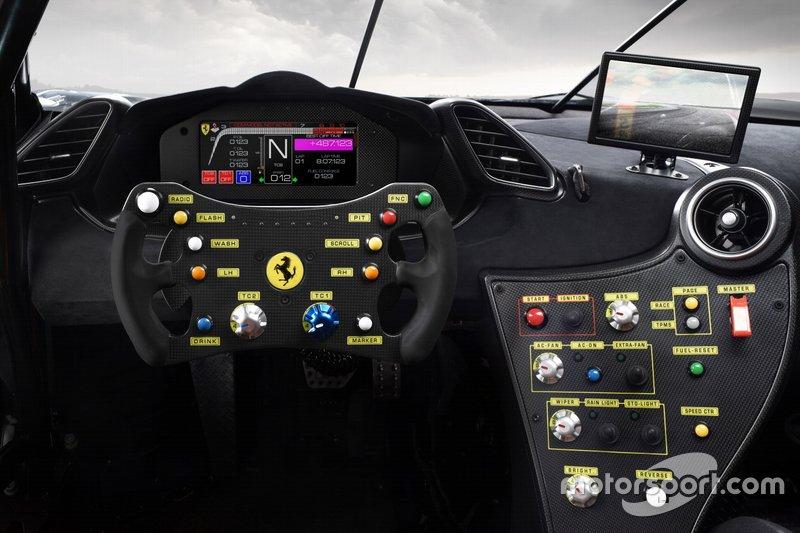 Ferrari 488 Challenge Evo, dettaglio