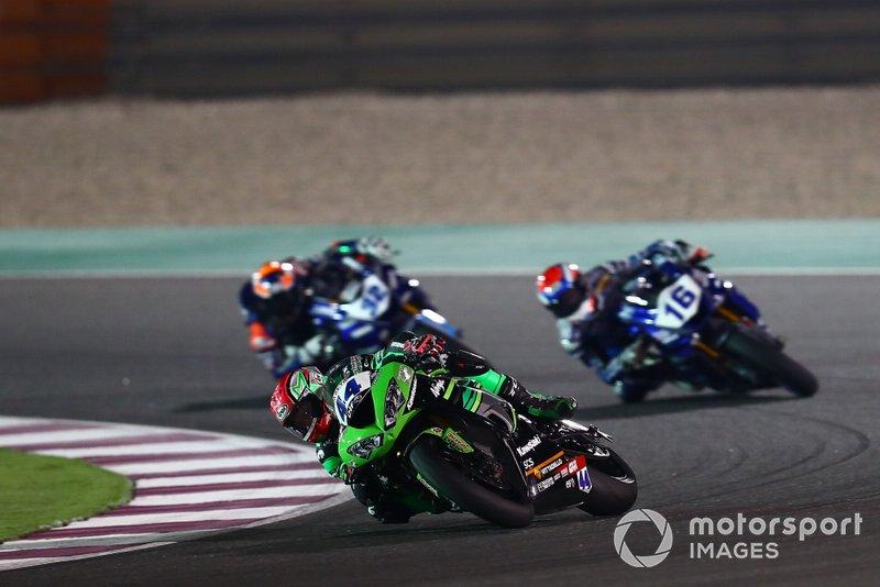 Lucas Mahias, Kawasaki Puccetti Racing, Jules Cluzel, GMT94 Yamaha, Isaac Vinales, Kallio Racing