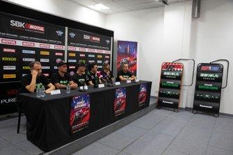 Guim Roda, Kawasaki Racing Leon Haslam, Kawasaki Racing Team, Jonathan Rea, Kawasaki Racing Team, Ichiro Yoda, Kawasaki Racing, Toprak Razgatlioglu, Turkish Puccetti Racing, Puccetti, Kawasaki members