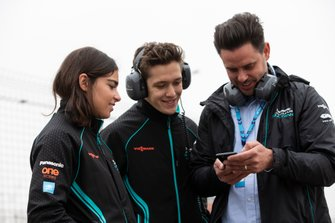 Sacha Fenestraz, Rookie Test Driver for Panasonic Jaguar Racing, Jamie Chadwick, Rookie Test Driver for Panasonic Jaguar Racing