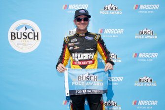 Polesitter Clint Bowyer, Stewart-Haas Racing, Ford Mustang Rush / Haas CNC