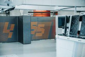 Garage of McLaren