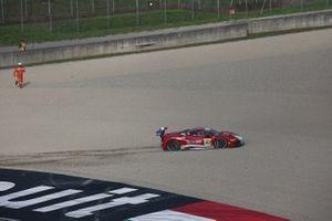 Off track: #363 Ferrari 488 Challenge, Cauley Ferrari of Detroit: Jay Schreibman