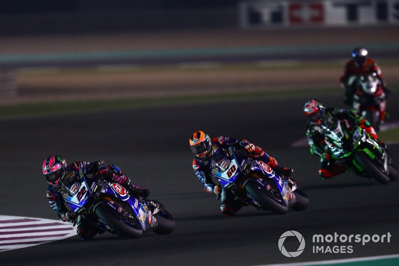 Alex Lowes, Pata Yamaha, Michael van der Mark, Pata Yamaha, Leon Haslam, Kawasaki Racing Team