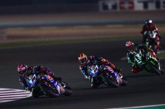 Alex Lowes, Pata Yamaha, Michael van der Mark, Pata Yamaha, Leon Haslam, Kawasaki Racing Team