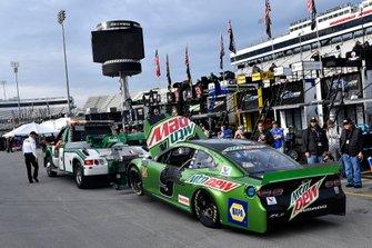 Motorschaden: Chase Elliott, Hendrick Motorsports, Chevrolet Camaro Mountain Dew