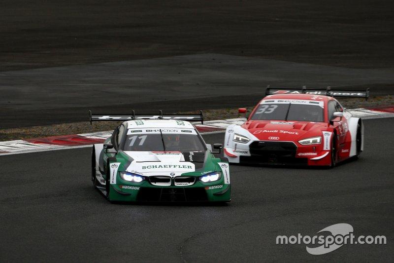 Marco Wittmann, BMW Team RBM BMW M4 DTM, Rene Rast, Audi Sport Team Rosberg Audi RS5 DTM