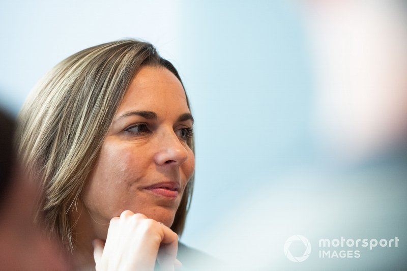 Claire Williams, subdirectora de Williams Racing