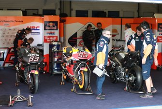 Box: Repsol Honda Team