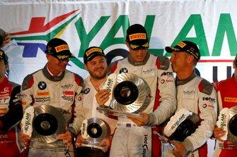 Podium: #36 Walkenhorst Motorsport BMW M6 GT3: Michael Von Rooyen, Gennaro Bonafede, Henry Walkenhorst