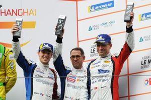 Les troisièmes du LMP3, David Droux, Eric Trouillet, Sebastien Page, Norma M30, Graff Racing