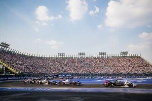 Andre Lotterer, Porsche, Porsche 99x Electric Sam Bird, Virgin Racing, Audi e-tron FE06, Nico Müller, GEOX Dragon, Penske EV-4