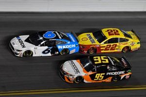 Ryan Newman, Roush Fenway Racing, Ford Mustang Koch Industries, Christopher Bell, Leavine Family Racing, Toyota Camry Procore, Joey Logano, Team Penske, Ford Mustang Shell Pennzoil