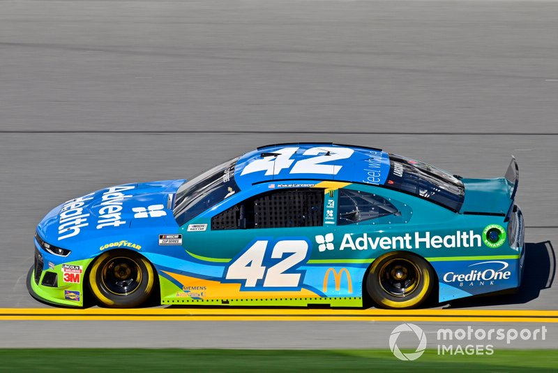Kyle Larson, Chip Ganassi Racing, Chevrolet Camaro AdventHealth