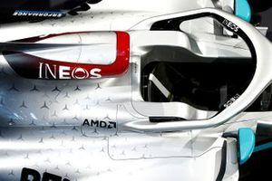 Dettagli livrea Mercedes AMG F1