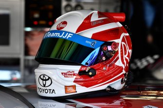 Christopher Bell, Joe Gibbs Racing, Toyota Supra Rheem helmet