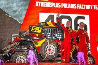 #406 Xtremeplus Polaris Factory Team: Jose Luis Pena Campo, Rafael Tornabell Cordoba