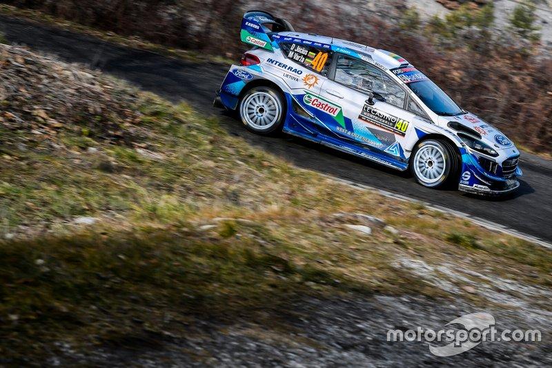Дейвидас Йоциус и Варза Миндаугас, M-Sport Ford WRT, Ford Fiesta WRC