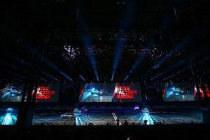 Live Action Arena at Autosport International show