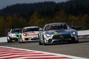 #162 Mercedes-AMG GT4: Tobias Müller, Tim Scheerbarth, Tristan Viidas