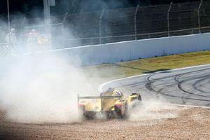 #85 JDC-Miller Motorsports Cadillac DPi: Misha Goikhberg, Tristan Vautier, Juan Piedrahita in the gravel