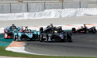 Oliver Rowland, Nissan e.Dams, Nissan IMO2 Mitch Evans, Panasonic Jaguar Racing, Jaguar I-Type 4, Lucas Di Grassi, Audi Sport ABT Schaeffler, Audi e-tron FE06