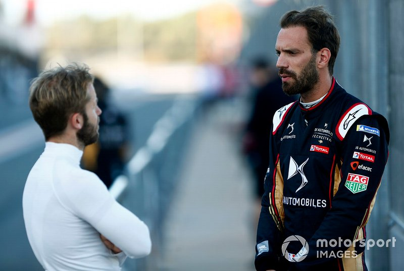 Jean-Eric Vergne, DS TECHEETAH con Sam Bird, Envision Virgin Racing