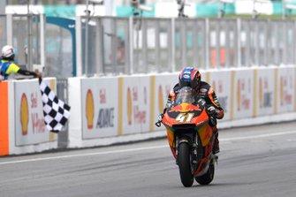 Il vincitore della gara Brad Binder, KTM Ajo