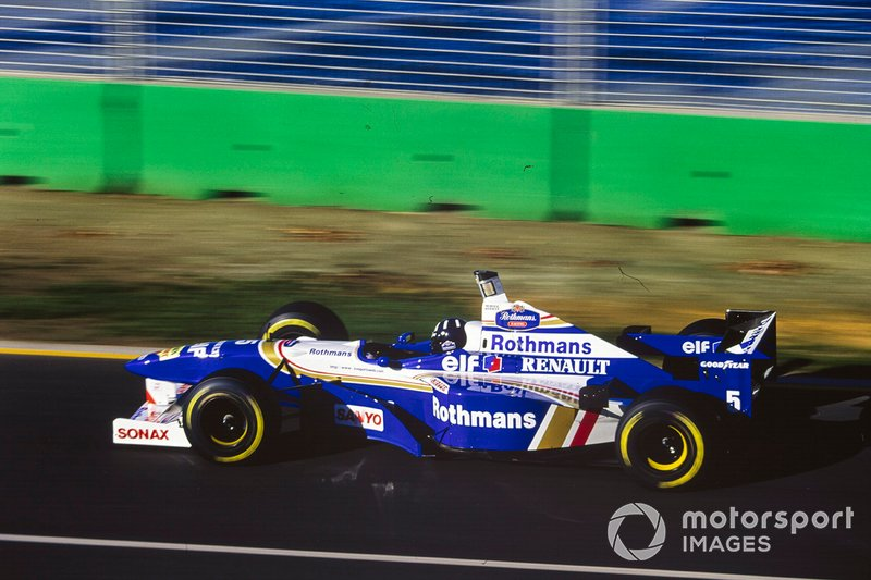 Damon Hill, Williams FW18 Renault, al GP d'Australia del 1996