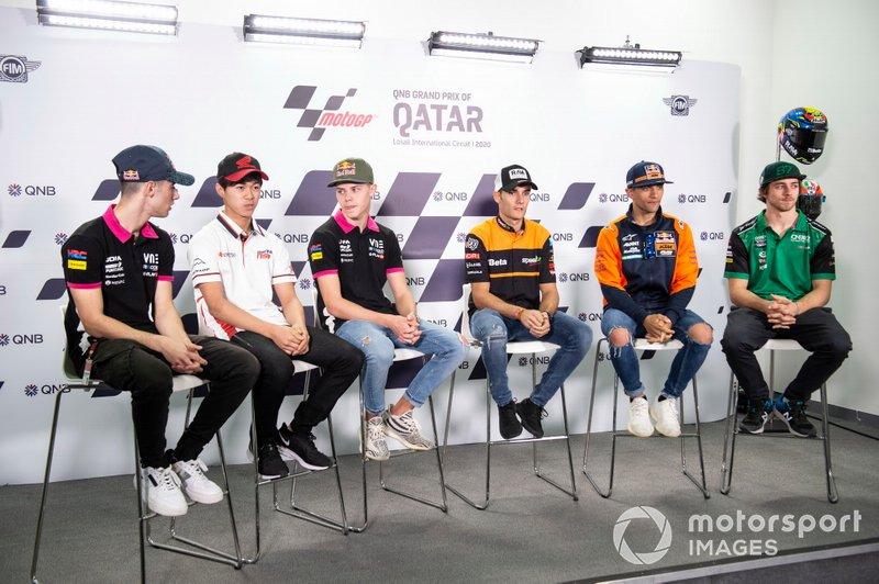Toni Arbolinio, Ai Ogura, Thomas Salac, Jorge Navarro, Speed Up Racing, Jorge Matin, Red Bull KTM Ajo, Remy Gardner, SAG Racing Team