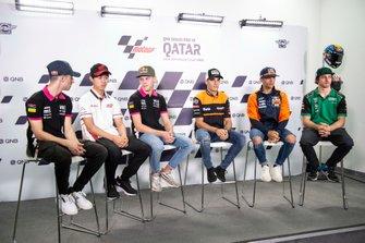 Tony Arbolinio, Ai Ogura, Filip Salac, Jorge Navarro, Speed Up Racing, Jorge Matin, Red Bull KTM Ajo, Remy Gardner, SAG Racing Team