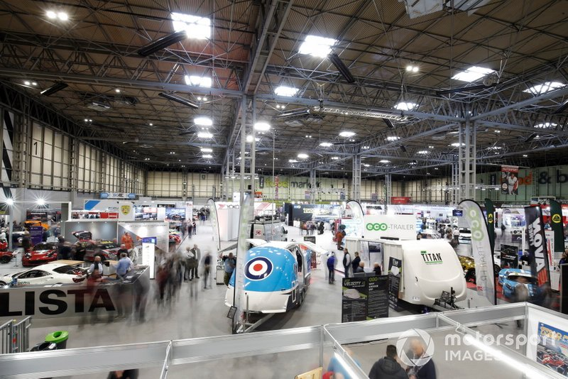A gerneral view of the Autosport Show