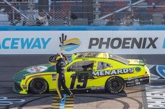Ganador: Brandon Jones, Joe Gibbs Racing, Toyota Supra