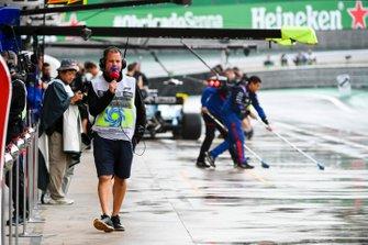 Ted Kravitz, Pit Lane Reporter, Sky Sports F1