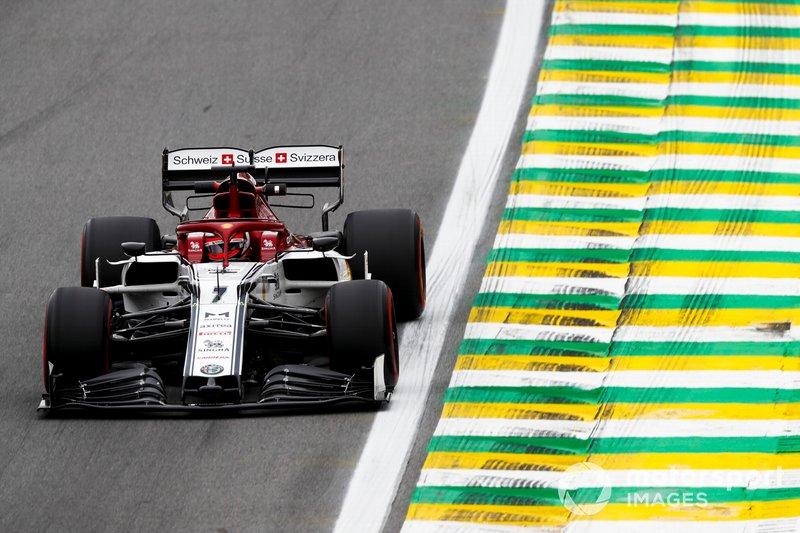 4º - Kimi Raikkonen, Alfa Romeo Racing C38