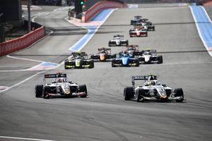 Lorenzo Colombo, Campos Racing and Amaury Cordeel, Campos Racing