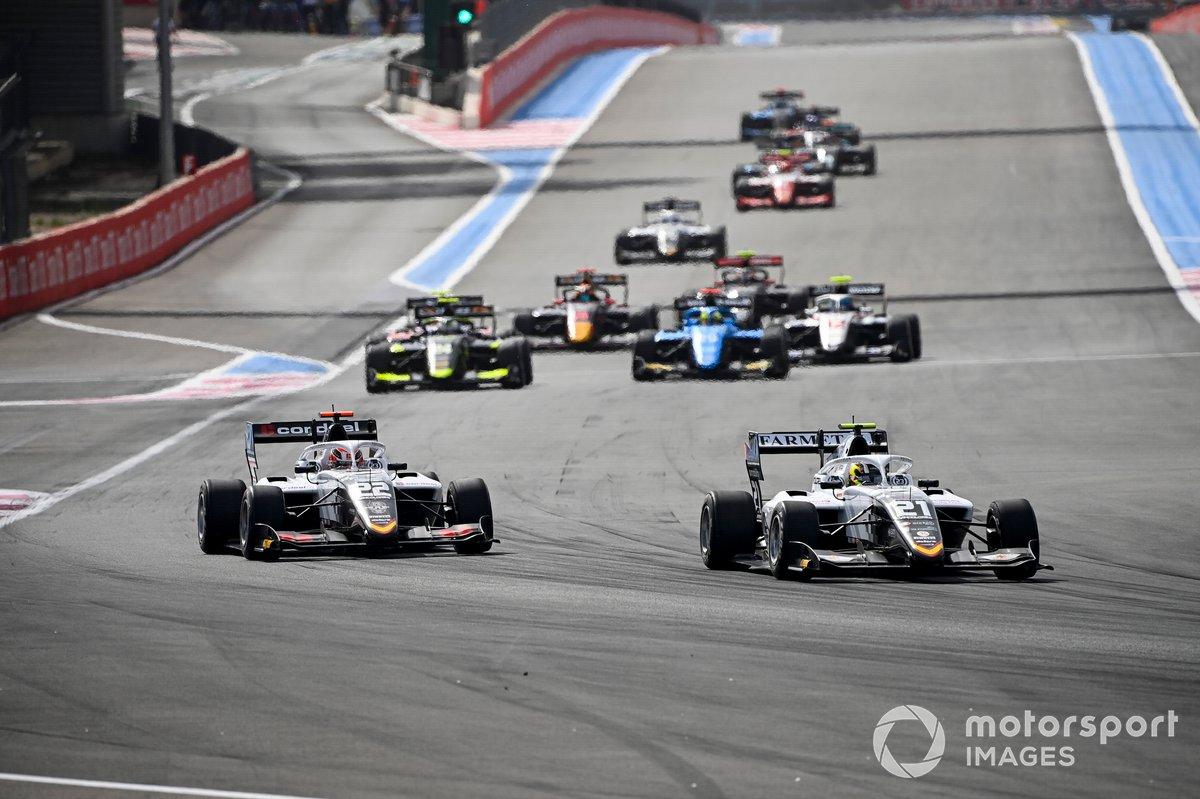Lorenzo Colombo, Campos Racing e Amaury Cordeel, Campos Racing