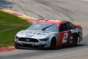 Brad Keselowski, Team Penske, Ford Mustang Snap on