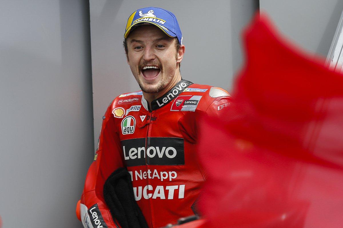 Ganador Jack Miller, Ducati Team