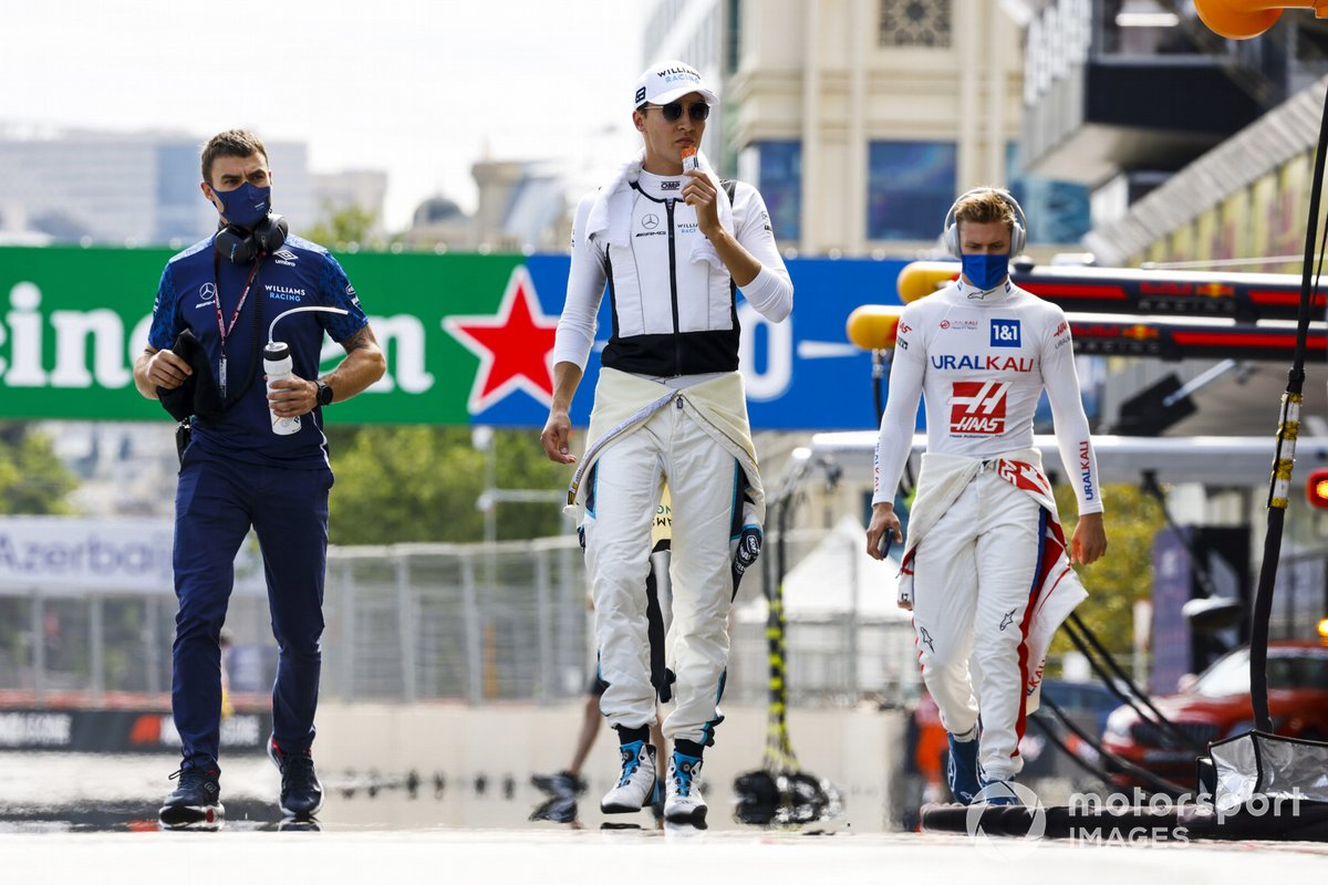 George Russell, Williams, Mick Schumacher, Haas F1