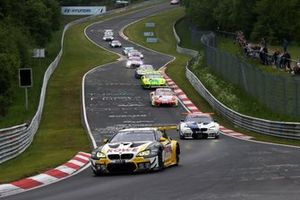 #1 ROWE Racing BMW M6 GT3: Nick Catsburg, John Edwards, Philipp Eng, Nick Yelloly leads