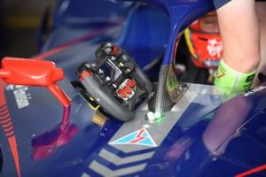 Volante dell'auto di Robin Frijns, Envision Virgin Racing, Audi e-tron FE07