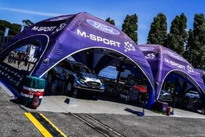 Team area, M-Sport Ford WRT